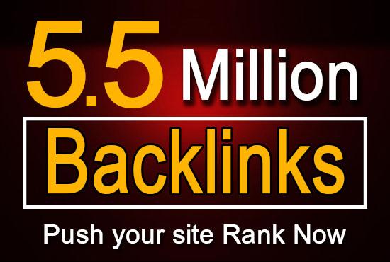I will build 5.5million malti tier gsa backlinks campaign for you