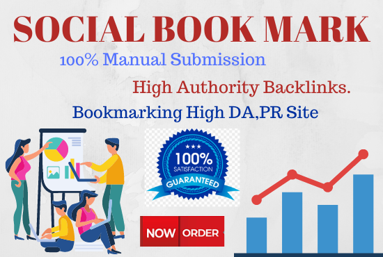 20 Social Bookmarking High authority Backlinks must rank your website permanent