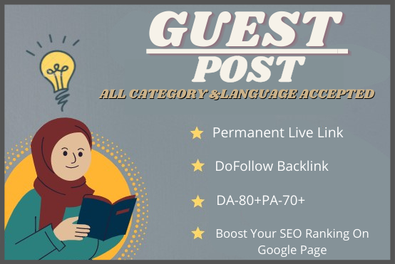 Write and publish 5 high quality Guest Posts using unique words and contextual back link