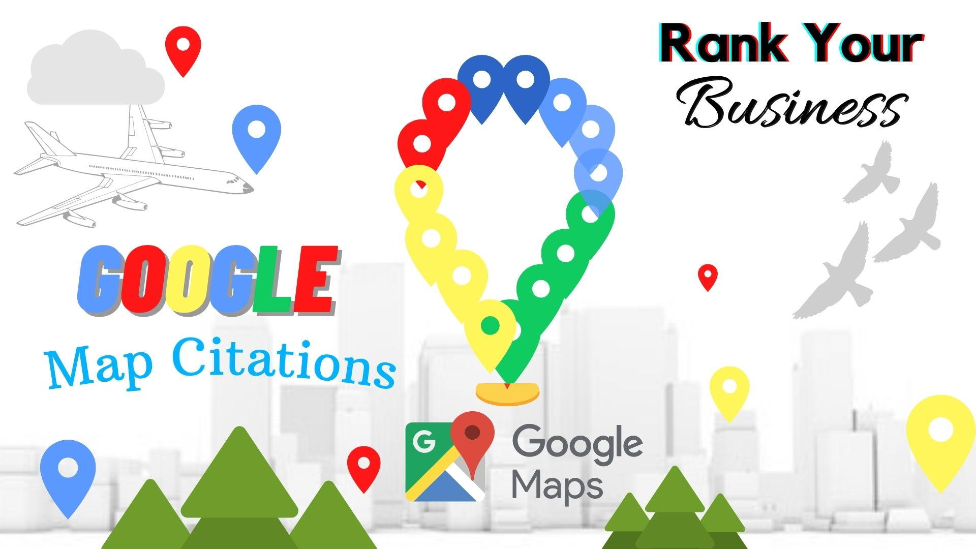 Create 150 Google Map Citations Backlinks In Local SEO To Drive More Customers,  Local area ranking