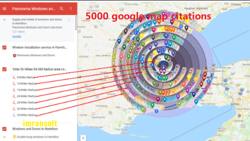 I will do 5,000 accurate google map citation for your local seo.