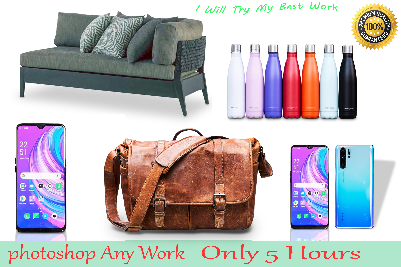 I will do product photo editing,  photo retouching with photoshop work