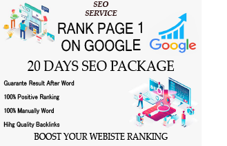 I will make 20 days Drip Feed Seo package