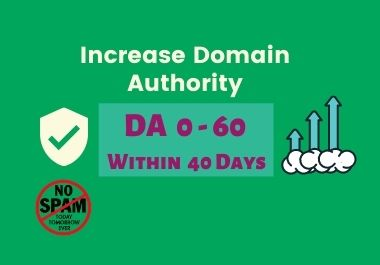 Increase DA 1-60 within 1 month