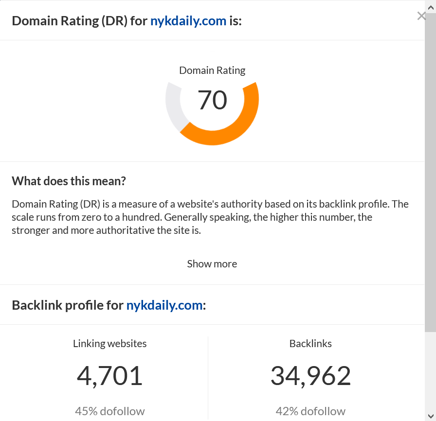 Do guest post on Dr 70 website permanet live dofollow backlink
