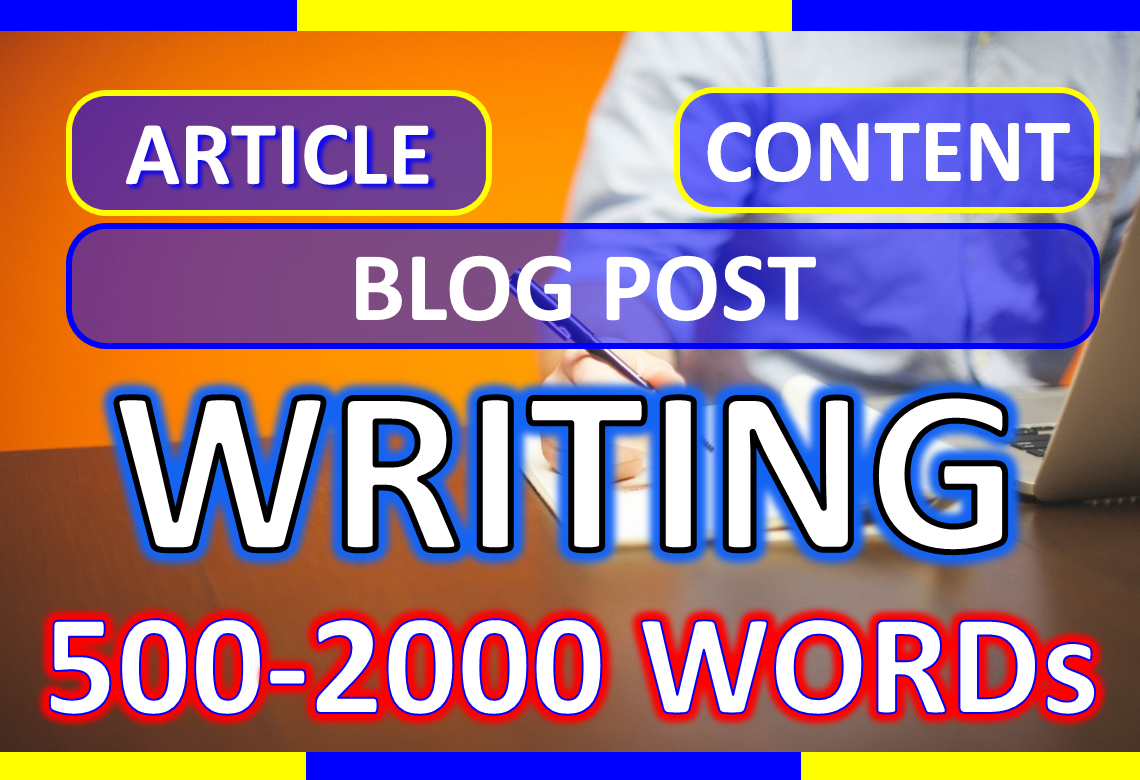 500 words SEO articles - blog - content writting on any niche