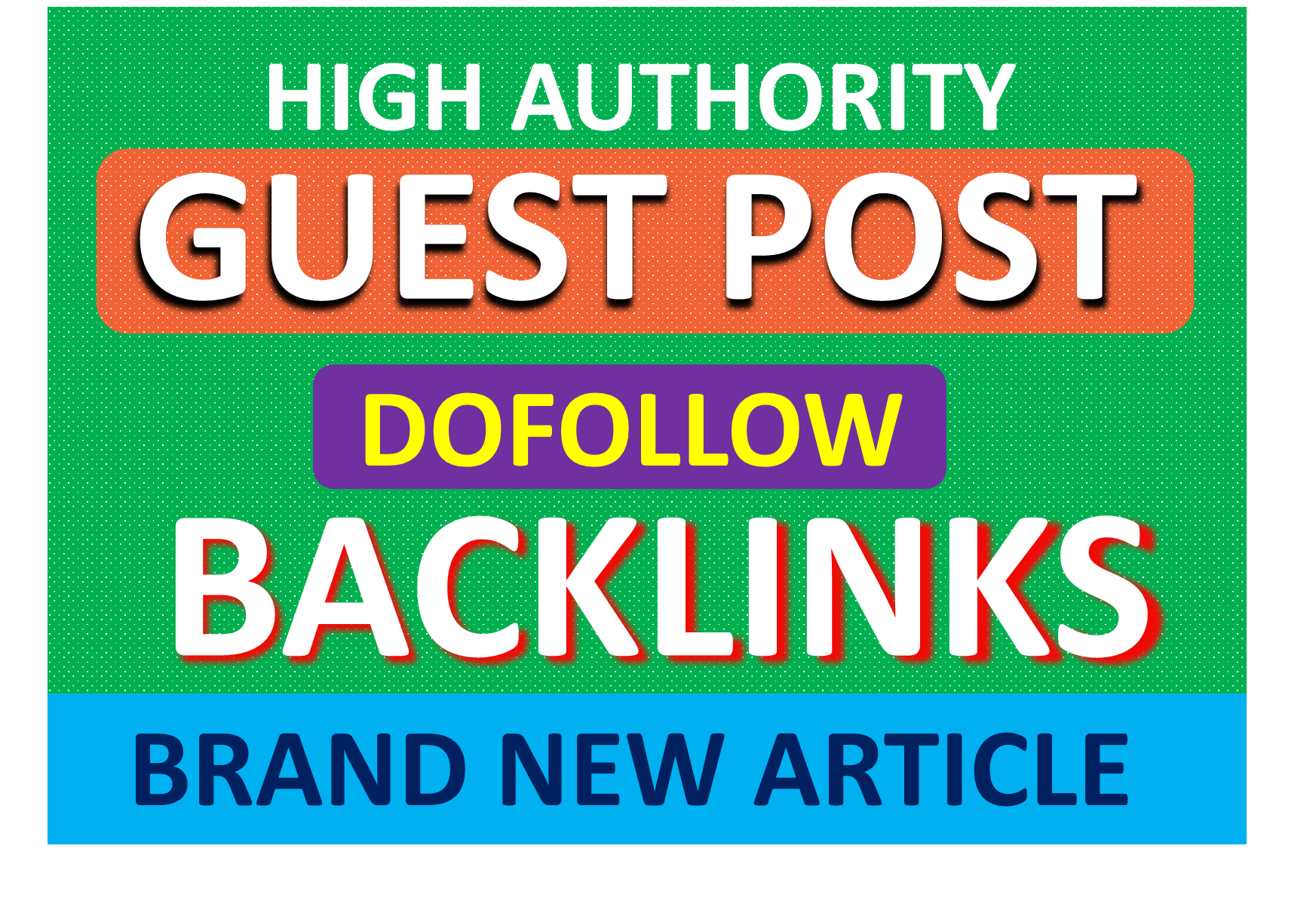 seo guest post on high da and dofollow backlinks with unique article