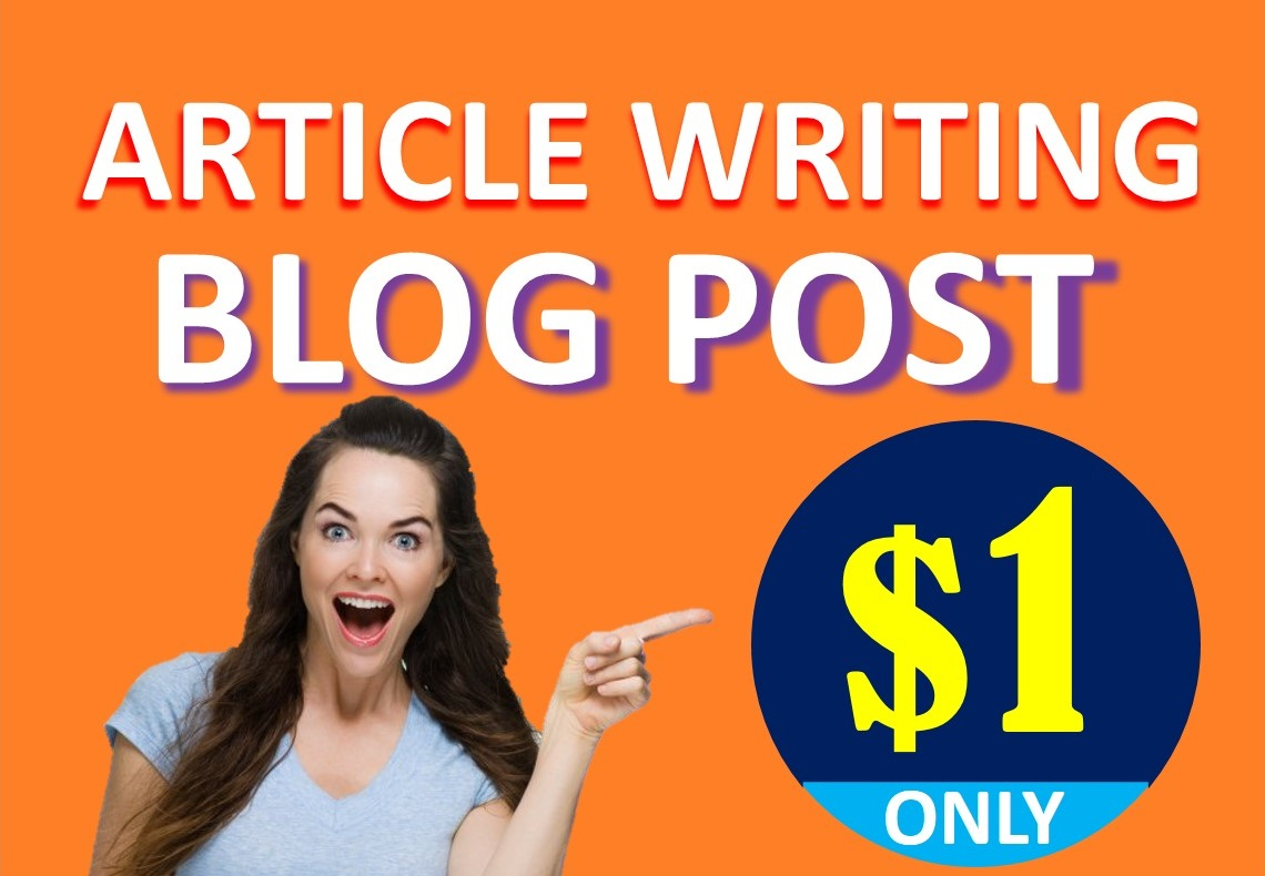 SEO optimized article writing / blog post / content writing
