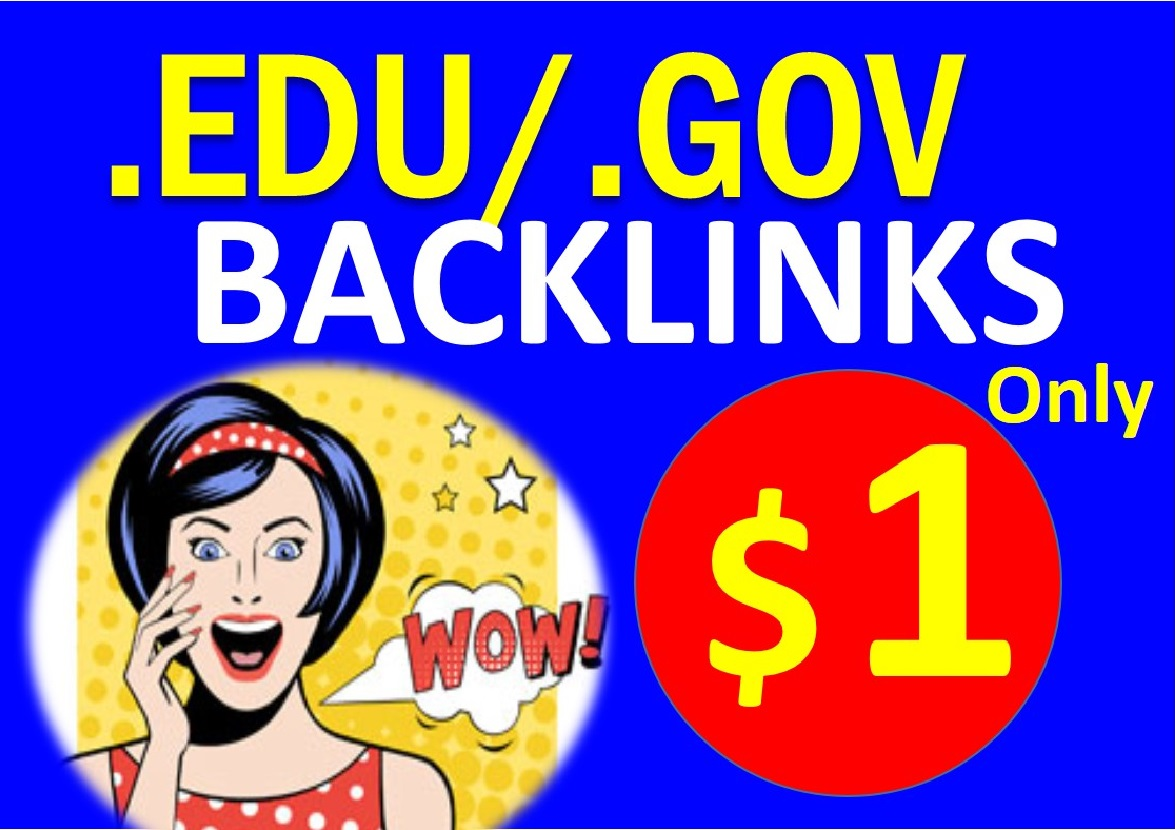 Manual 15 High DA + EDU & GOV Profile Backlinks to google Rank 2021