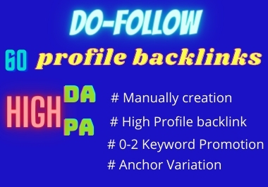 High Quality Profile Backlinks For Your Website