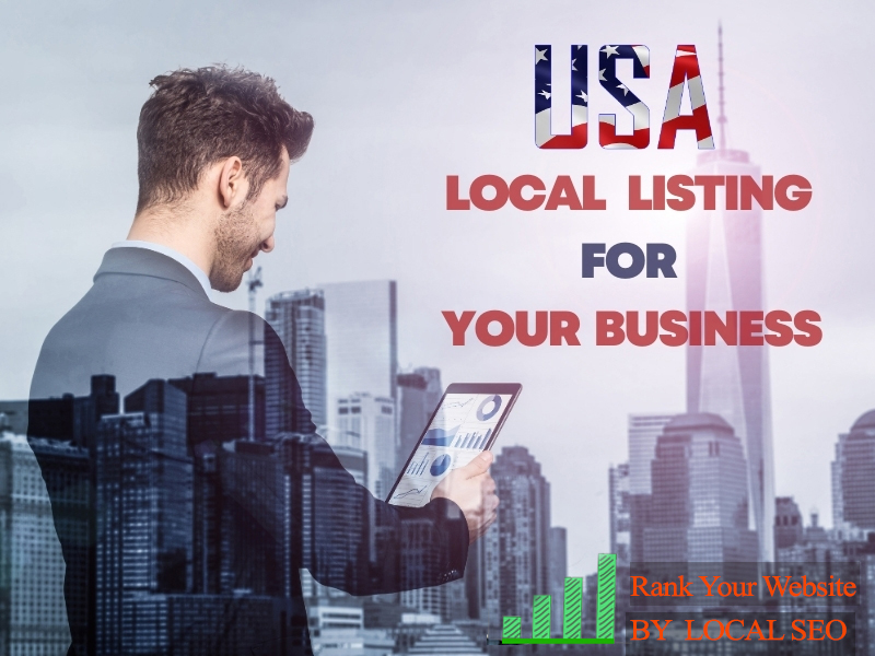 I will do 50 USA local Listing and business directories