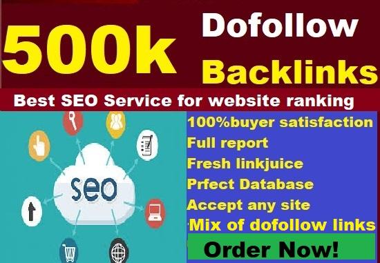 I will Build Verified 500k GSA SEO Backlinks