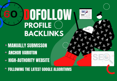Manual 60 High Quality Profile Backlinks To Boost Your Website Ranking