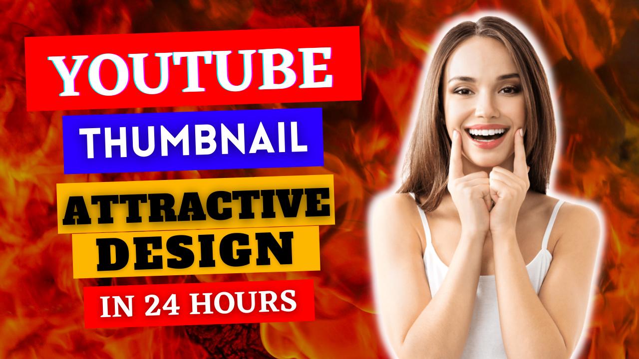 I Will Create 3 EYE CATCHY YouTube Video Thumbnails