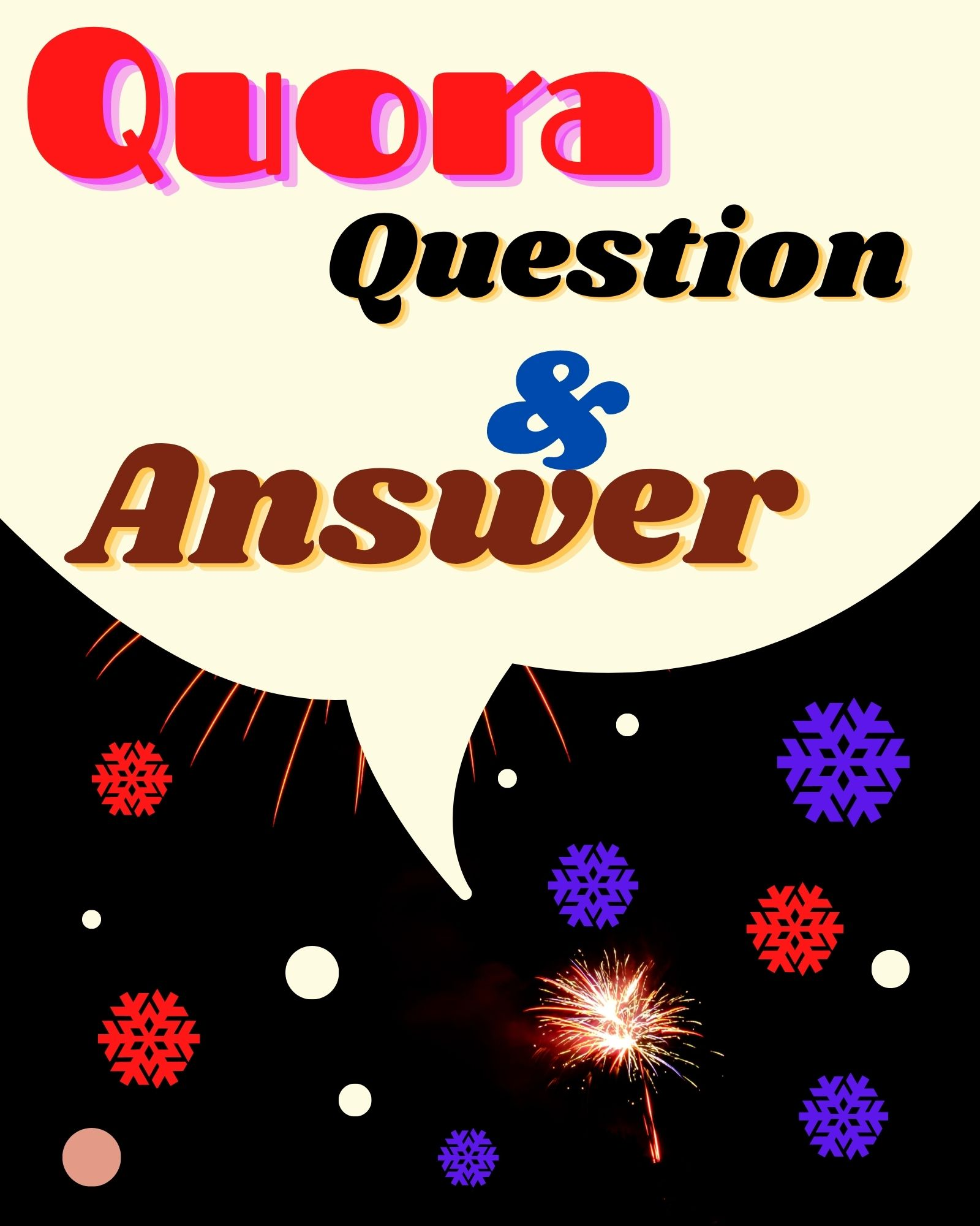 Quora Provide Organic 20 Question & Answer with your website