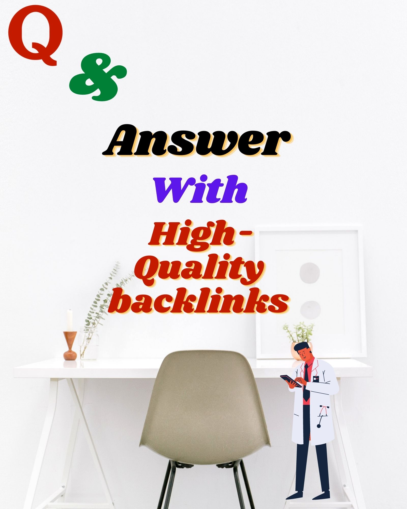Promote your website with 50 Quora answers with High-Quality backlinks