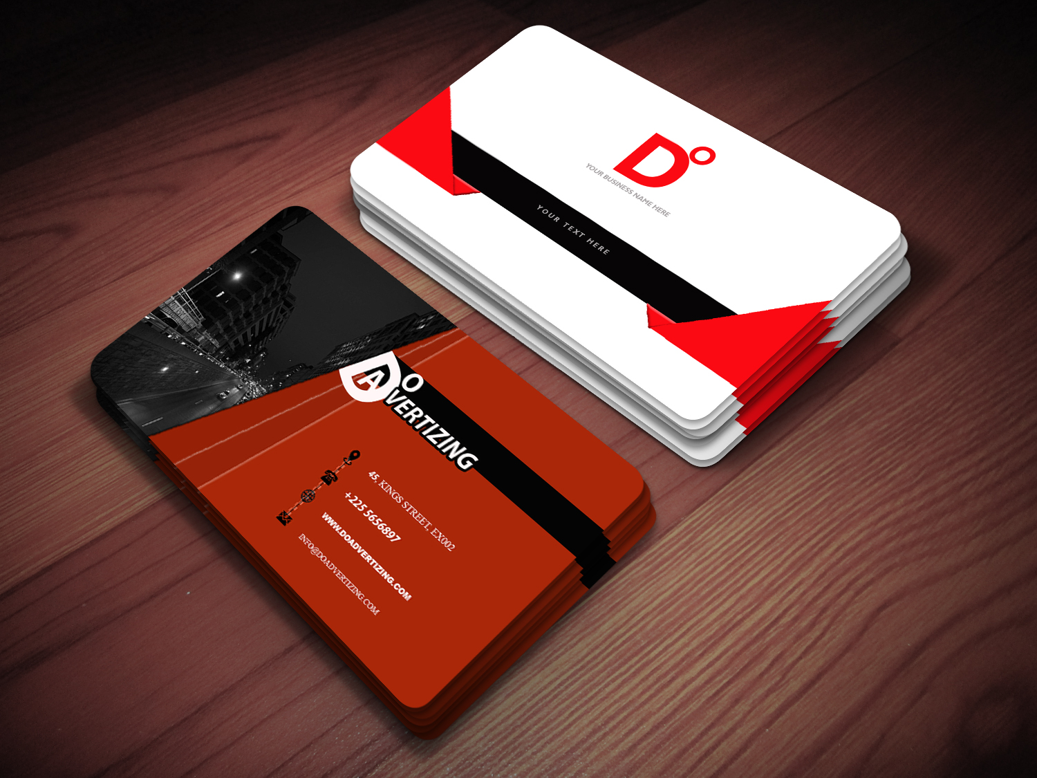 i will design professional and unique business cards