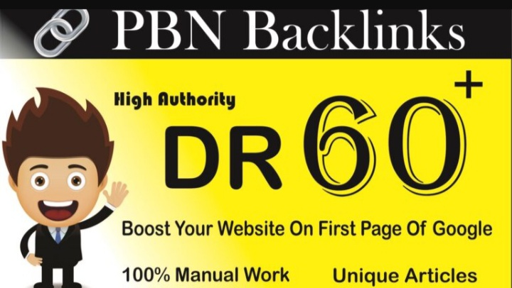 Create 5 DR 60+ Homepage PBN Backlinks To Skyrocket you SERP Improve Your Google Ranking