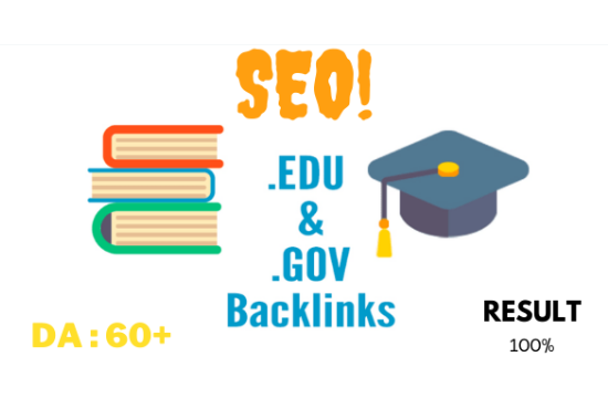 I will create 15 high quality edu and gov backlinks
