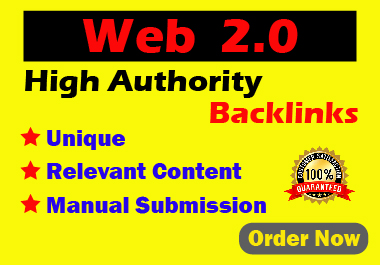 Manual 20 Web 2.0 High Authority White Hat Backlinks For Your Website permanent link building