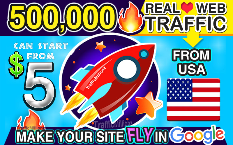 I will send real USA web traffic visitors to your website