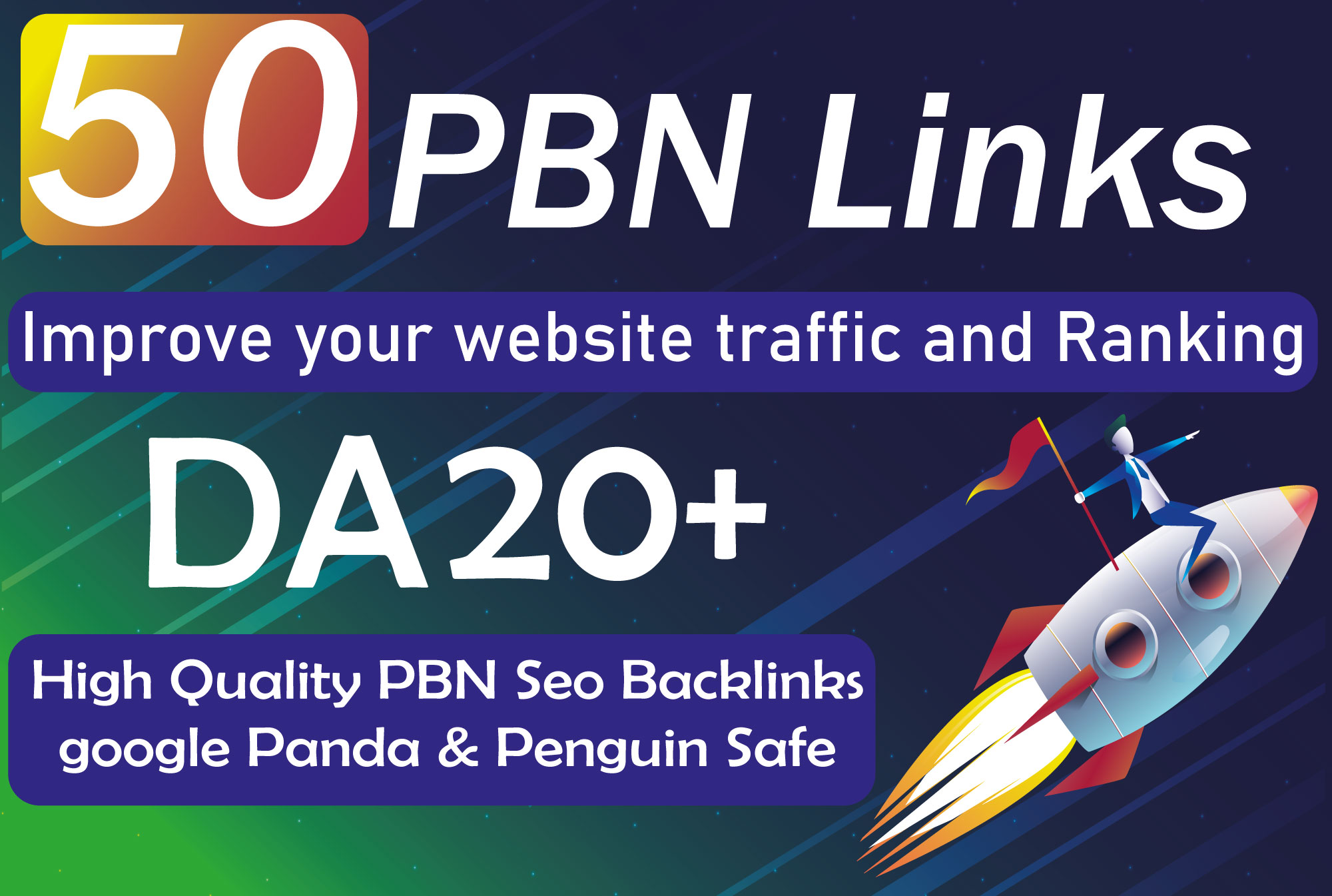 create 50 quality dofollow pbn that will boost your site ranking