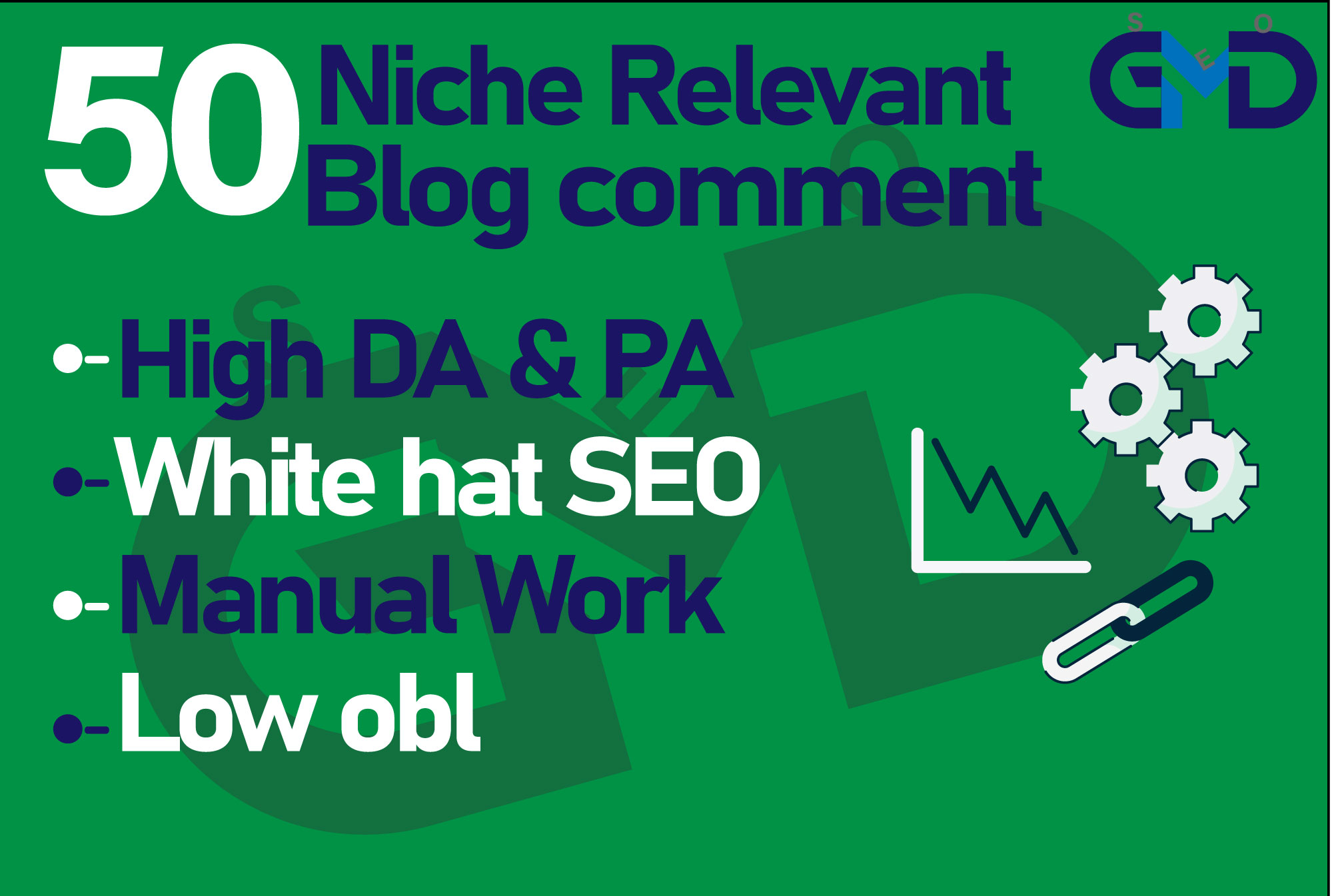 I will create 50 low obl niche relevant blog comment seo