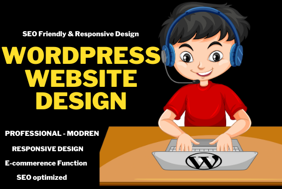 Create a Responsive WordPress Website and word press Blog