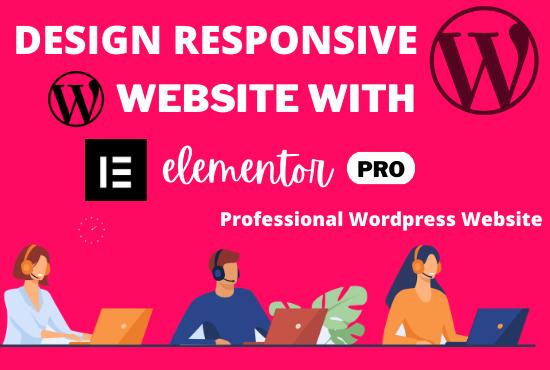 Create a Responsive WordPress Website and word press Blog