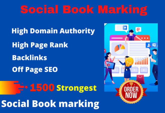 I will make the best 1500 social bookmark for your url manually
