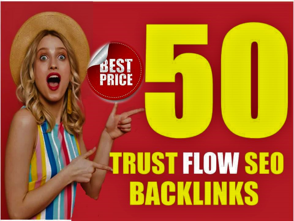 Do Build 50 White Hat High Trust Flow TF, CF Contextual Dofollow Backlinks For Off Page Seo Service