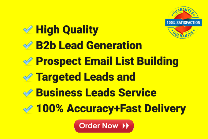 I will do highly targeted b2b LinkedIn lead generation