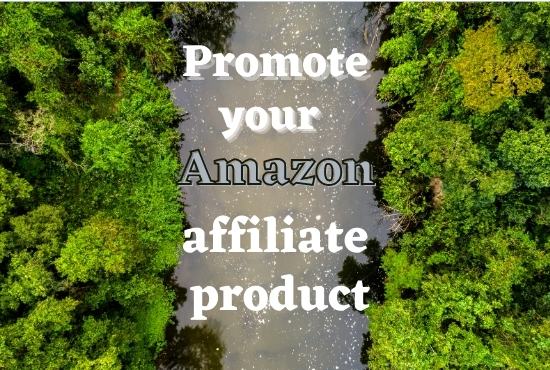 I will Promote your Amazon affiliate product in 2 million actives Facebook user