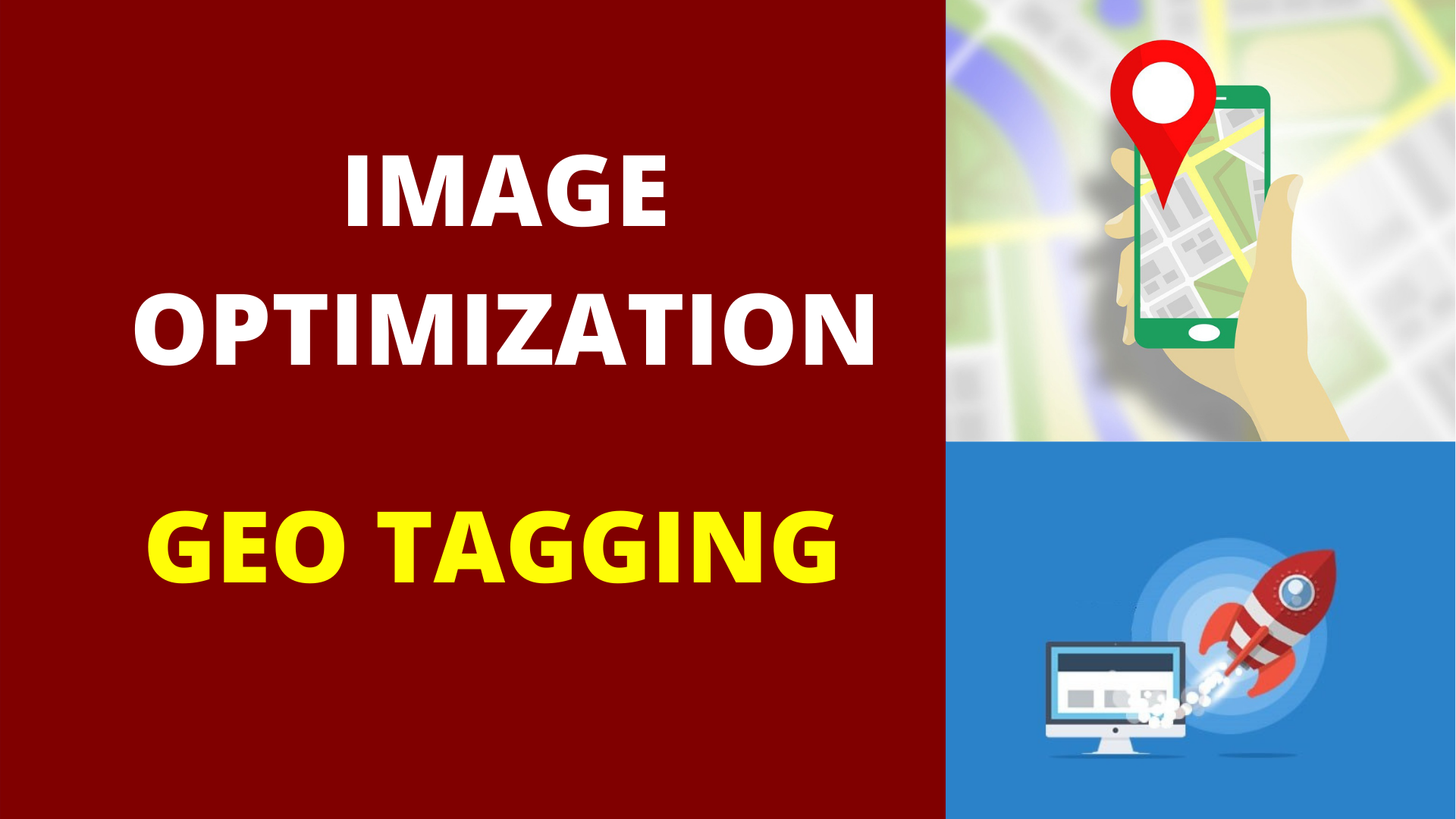I will do image optimization with geotagging for super local SEO