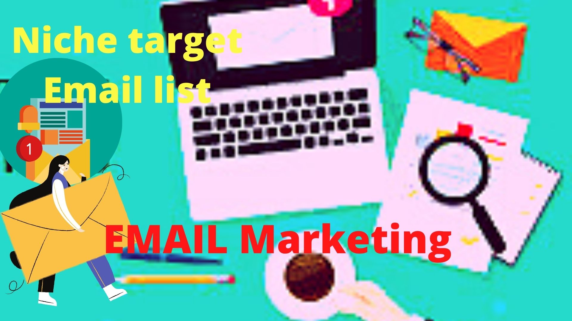 I will do mail chimp layout plan and email advertising.