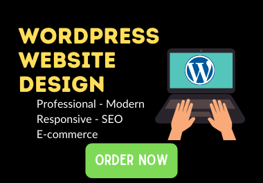 create, design an attractive and responsive wordpress site with amazing features