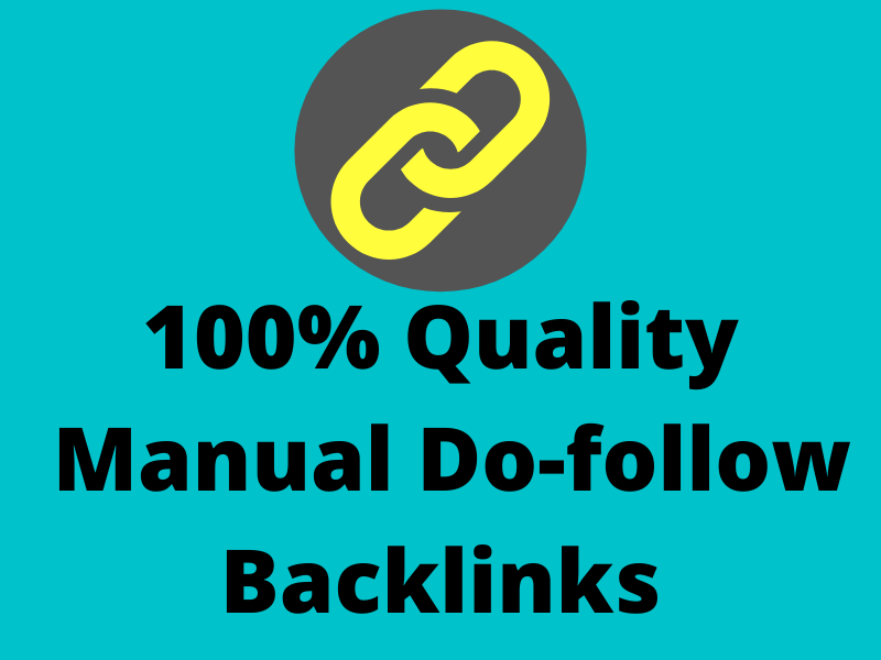 I will build 12 high quality 100 percent manual Do-follow backlinks for top ranking