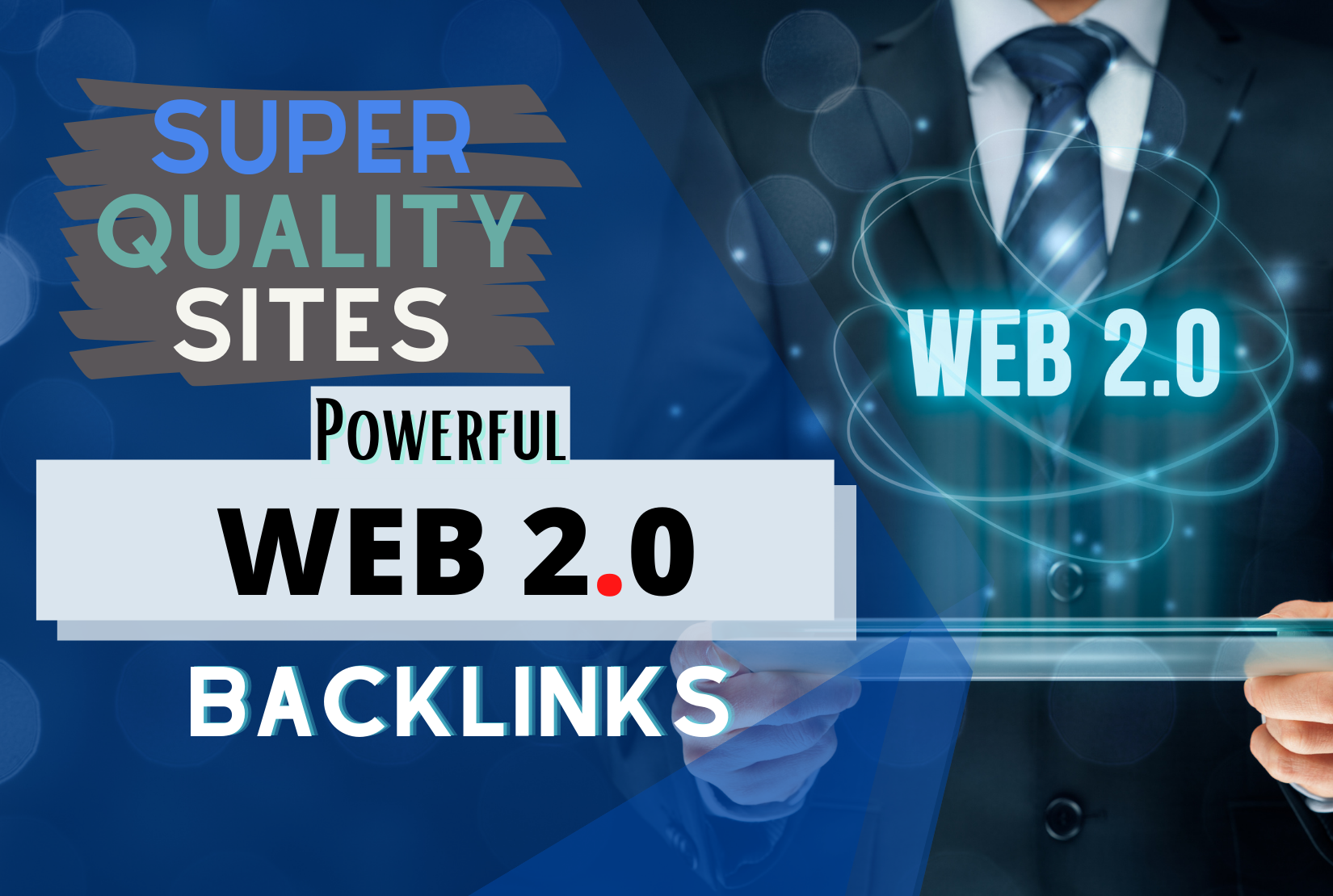 Google first page ranking with 20 High Quality Web 2.0 Backlinks
