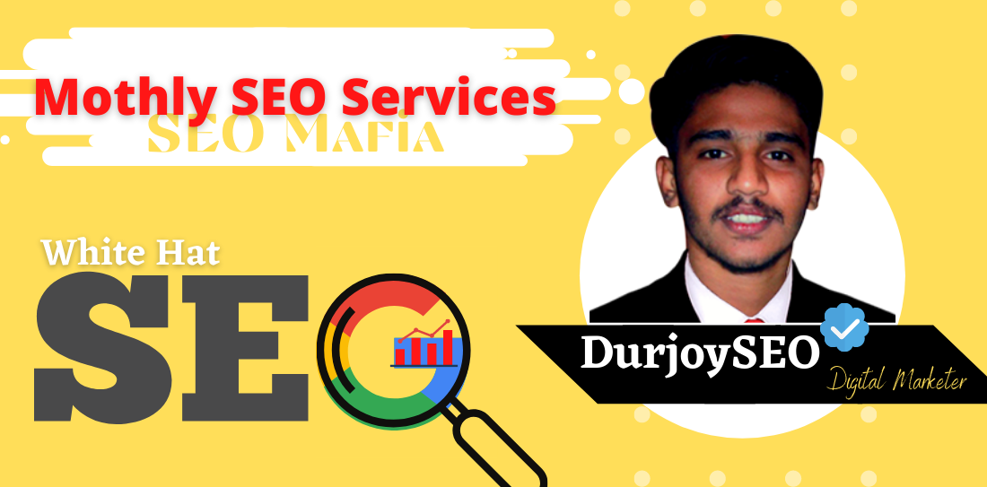 I will elevate your ranking and white hat monthly SEO services
