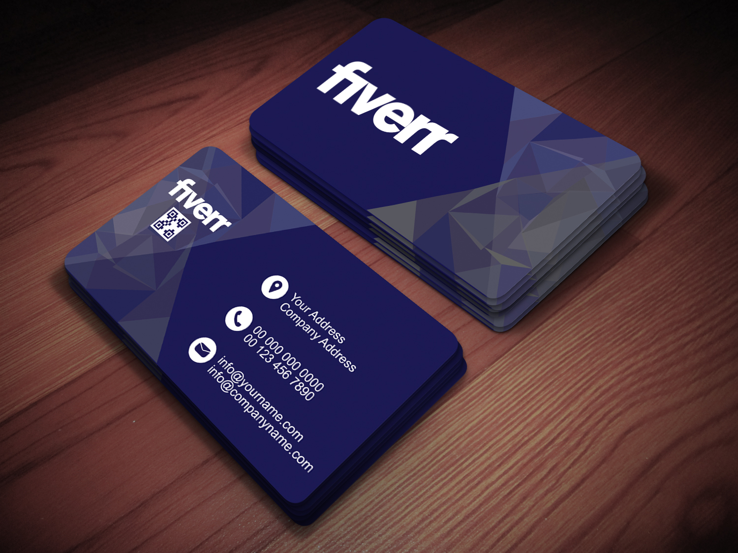 I will design a professional and creative business card