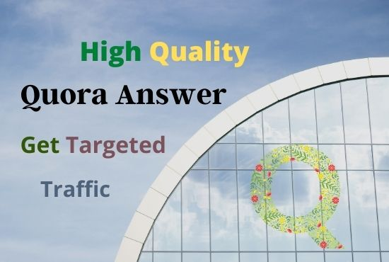 Guaranteed Targeted Traffic Your Website 10 High Quality Quora Answer