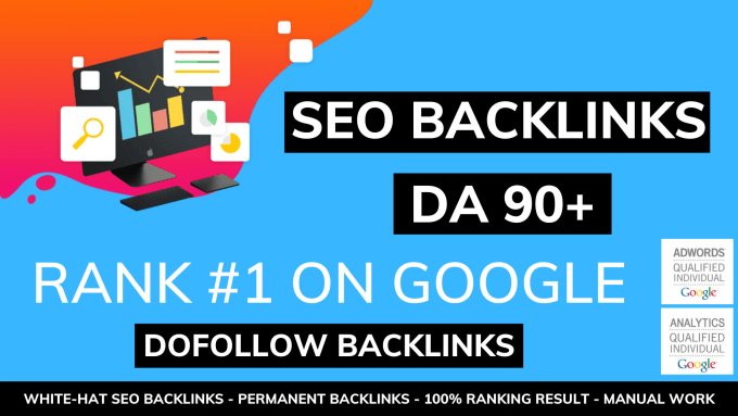 I will do build high authority dofollow SEO backlinks off page white hat contextual manual