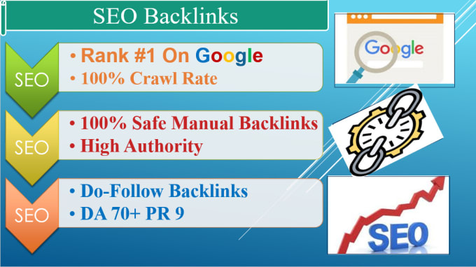 I will do create authority da70 seo dofollow manual backlinks