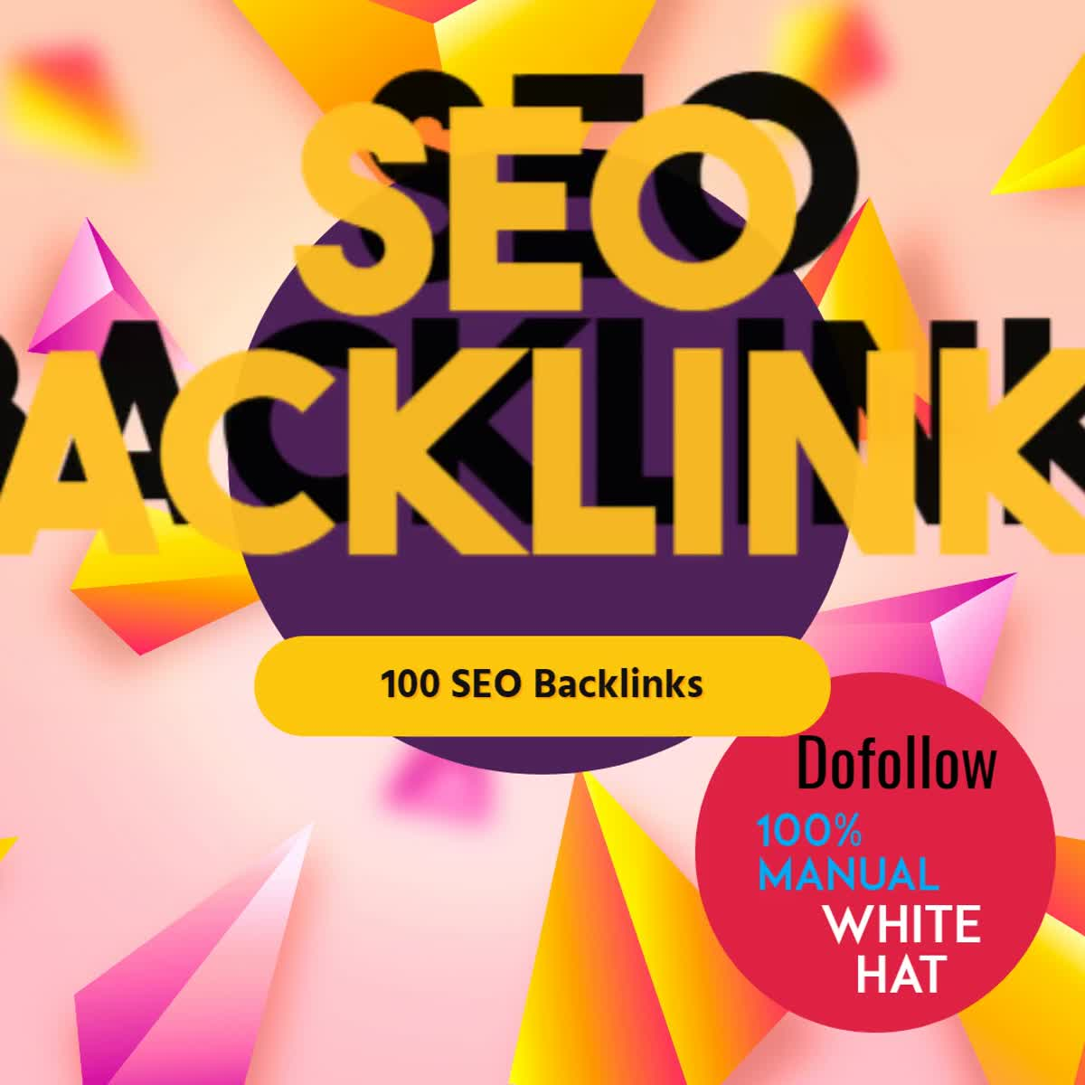 Land your website on Google 1st page with dofollow 70 backlinks manually