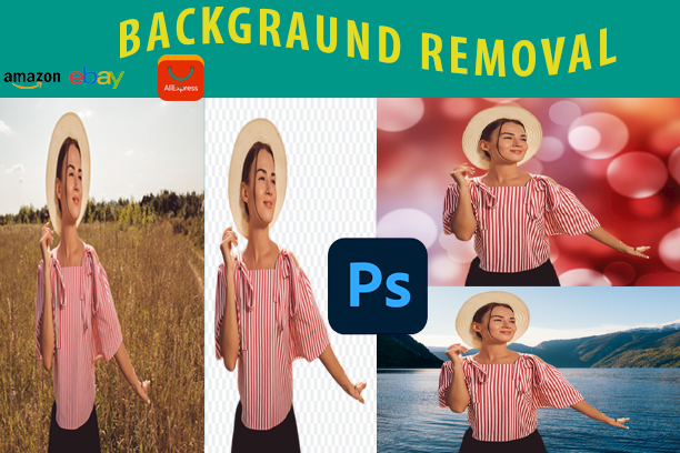 i will remove background 30 images