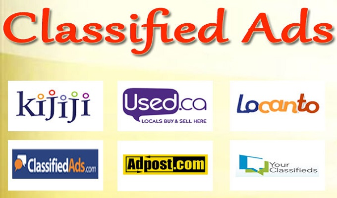 I will manually do 40 live classified ads posting in any country