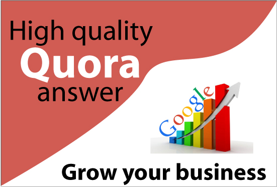 I will do manually 10 High Quality Quora Answer