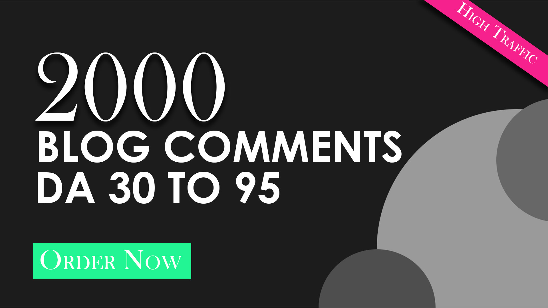 Get High Quality Blog Comments
