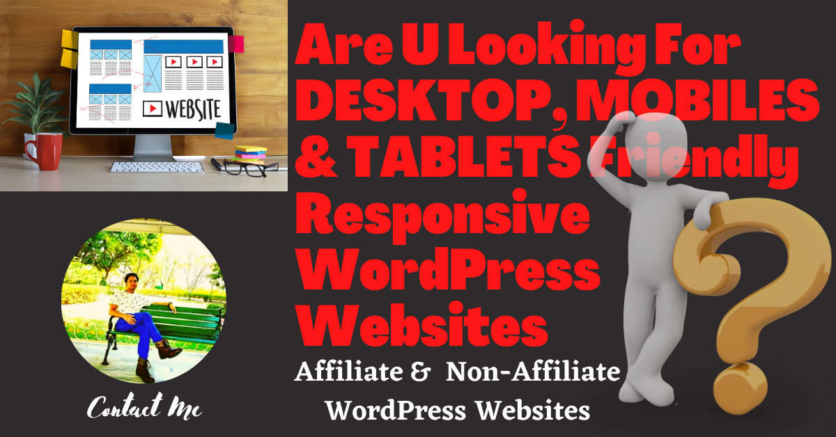 I will develop a Affiliate & Non Affiliate Professional WordPress Website