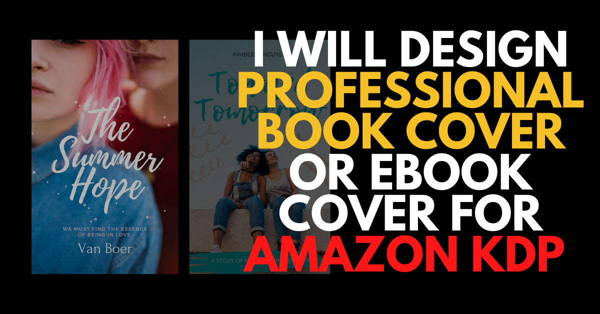 I will design professional book cover or ebook cover for Amazon KDP